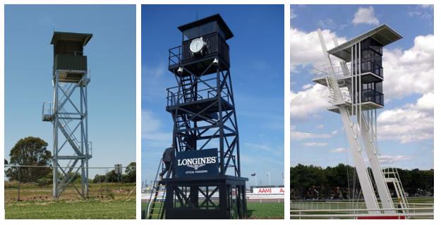 Standard Racing Tower, Clock Tower & Stewards Tower